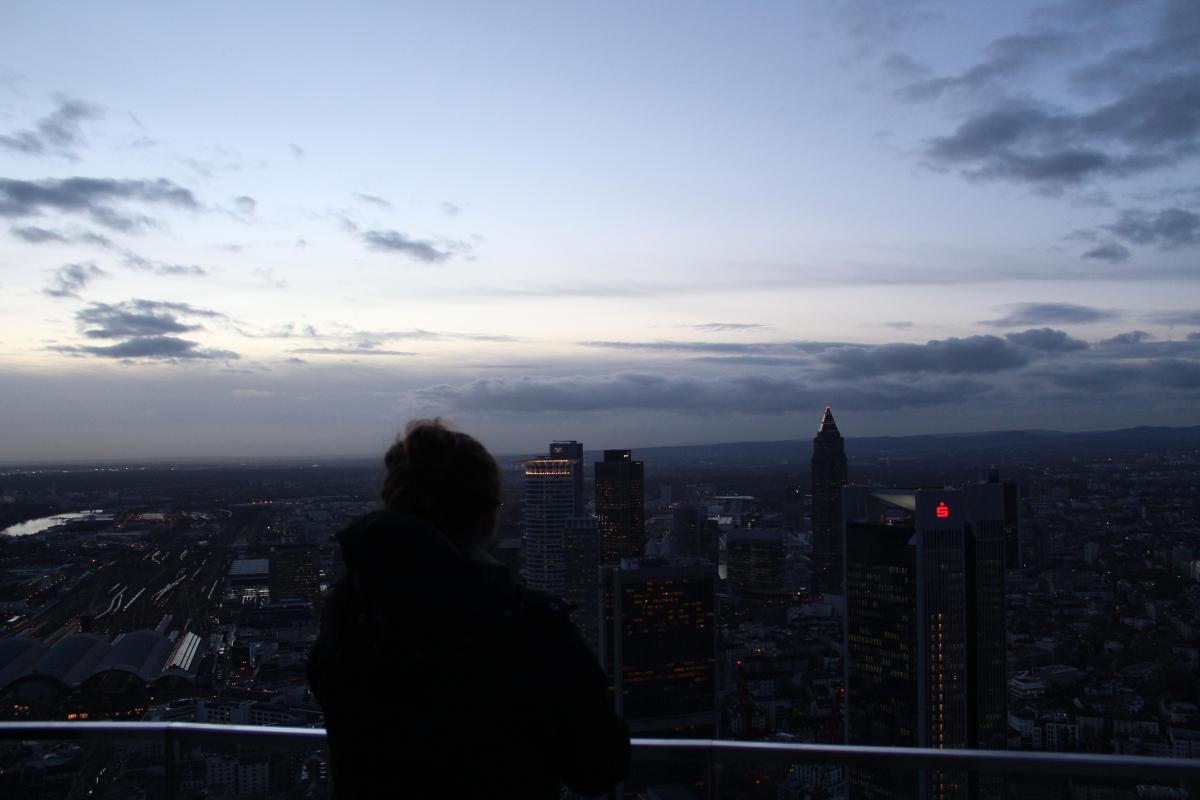 Städtetrip nach Frankfurt beiSchmuddelwetter